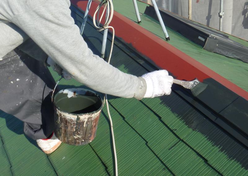 八千代の屋根塗装・菅野建装_コロニアル