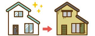 八千代の塗り替え・菅野建装_家のイラスト